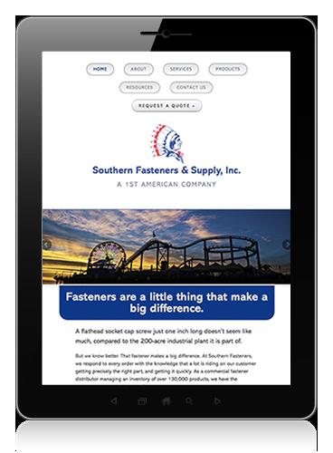 Southern Fasteners iPad