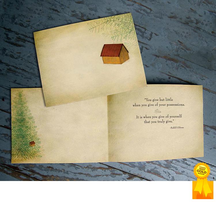 Habitat for Humanity holiday card